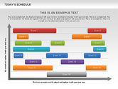 Timelines & Calendars: Schedule Diagram #00575