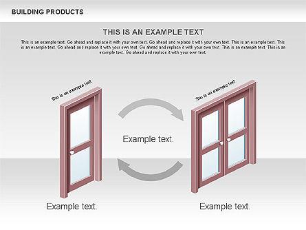 Free Construction Process Diagram, Slide 10, 00581, Process Diagrams — PoweredTemplate.com