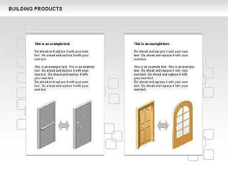 Free Construction Process Diagram, Slide 11, 00581, Process Diagrams — PoweredTemplate.com