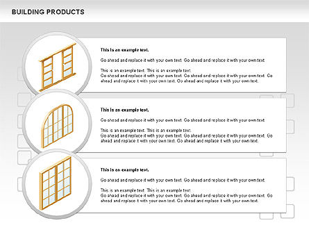 Free Construction Process Diagram, Slide 12, 00581, Process Diagrams — PoweredTemplate.com