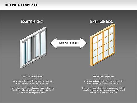 Free Construction Process Diagram, Slide 13, 00581, Process Diagrams — PoweredTemplate.com