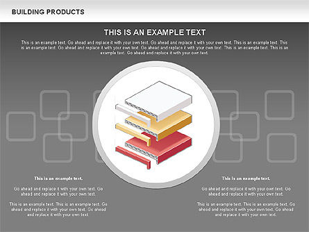 Free Construction Process Diagram, Slide 15, 00581, Process Diagrams — PoweredTemplate.com