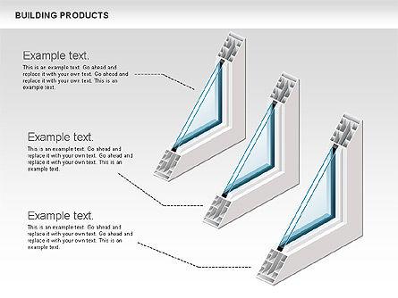 Free Construction Process Diagram, Slide 2, 00581, Process Diagrams — PoweredTemplate.com