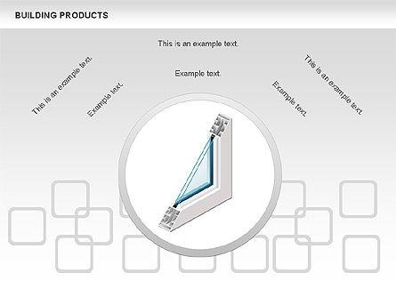 Free Construction Process Diagram, Slide 3, 00581, Process Diagrams — PoweredTemplate.com