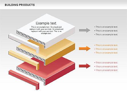 Free Construction Process Diagram, Slide 4, 00581, Process Diagrams — PoweredTemplate.com