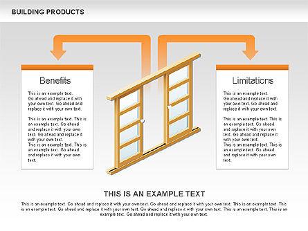 Free Construction Process Diagram, Slide 5, 00581, Process Diagrams — PoweredTemplate.com