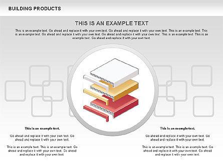 Free Construction Process Diagram, Slide 6, 00581, Process Diagrams — PoweredTemplate.com