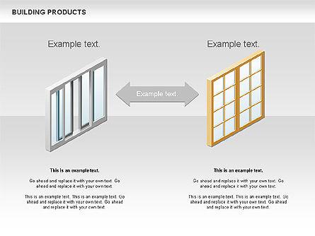 Free Construction Process Diagram, Slide 7, 00581, Process Diagrams — PoweredTemplate.com