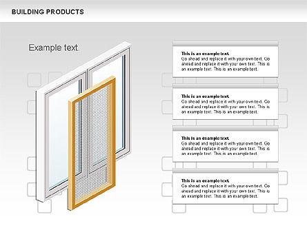 Free Construction Process Diagram, Slide 8, 00581, Process Diagrams — PoweredTemplate.com