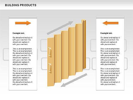 Free Construction Process Diagram, Slide 9, 00581, Process Diagrams — PoweredTemplate.com