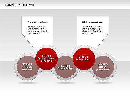 Marketing Research Diagram, Slide 15, 00583, Business Models — PoweredTemplate.com