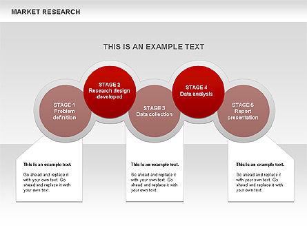Marketing Research Diagram, Slide 16, 00583, Business Models — PoweredTemplate.com