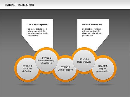 Marketing Research Diagram, Slide 19, 00583, Business Models — PoweredTemplate.com
