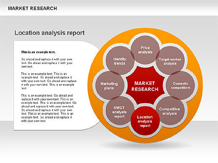 Marketing Research Diagram, Slide 6, 00583, Business Models — PoweredTemplate.com