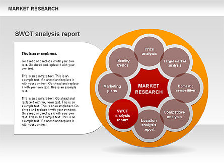 Marketing Research Diagram, Slide 7, 00583, Business Models — PoweredTemplate.com