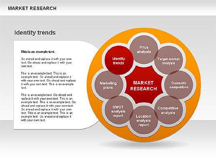 Marketing Research Diagram, Slide 9, 00583, Business Models — PoweredTemplate.com