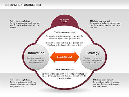 Innovation Marketing Diagram, Slide 10, 00585, Business Models — PoweredTemplate.com