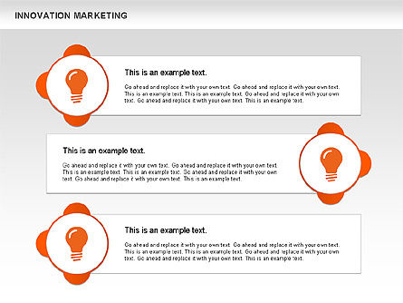 Innovation Marketing Diagram, Slide 7, 00585, Business Models — PoweredTemplate.com