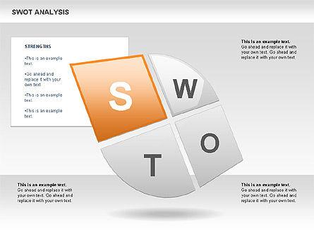 SWOT Analysis Petals Diagram, Slide 2, 00589, Business Models — PoweredTemplate.com