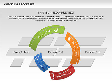 Process Diagrams: Checklist Processes Diagram #00593
