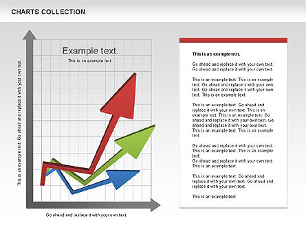 Collection of Arrows and Charts, Slide 5, 00595, Shapes — PoweredTemplate.com