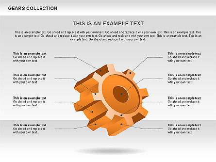 3D Gears Process Shapes Slide 2
