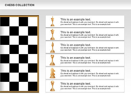 Chess Shapes and Diagrams, Slide 4, 00611, Shapes — PoweredTemplate.com