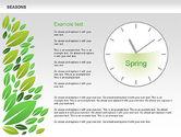 Timelines & Calendars: Seasons Timeline Diagram #00612