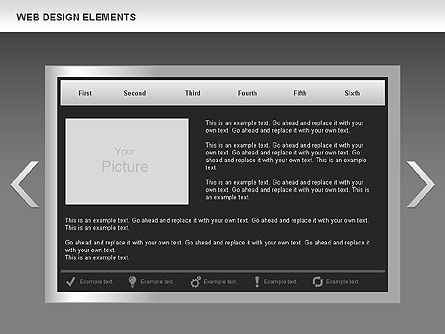 Web Design Process Diagrams, Slide 12, 00613, Process Diagrams — PoweredTemplate.com