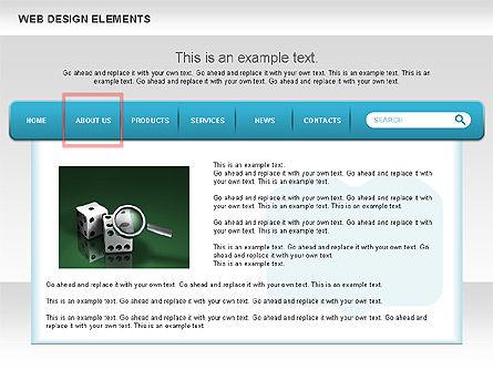 Website Design Diagrams, Slide 2, 00614, Process Diagrams — PoweredTemplate.com