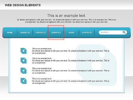 Website Design Diagrams, Slide 4, 00614, Process Diagrams — PoweredTemplate.com