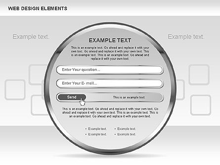 Web Design Shapes and Diagrams, Slide 9, 00618, Process Diagrams — PoweredTemplate.com
