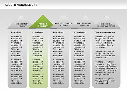 Asset Management Diagram, Slide 11, 00622, Business Models — PoweredTemplate.com