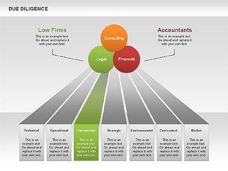 Due Diligence, Slide 4, 00627, Business Models — PoweredTemplate.com
