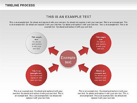 Timeline Process with Circles Diagram, Slide 7, 00629, Timelines & Calendars — PoweredTemplate.com