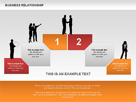 Business Models: Business Relationship Textboxes #00633