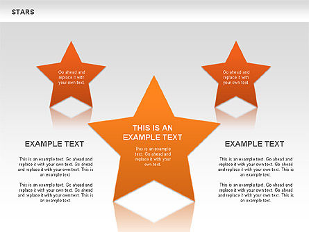 Stars Shapes and Diagrams, Slide 8, 00635, Shapes — PoweredTemplate.com