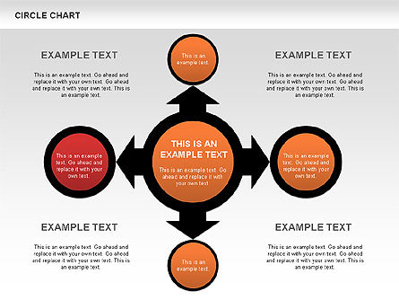 Flow Charts: Circles and Arrows Flow Charts #00636
