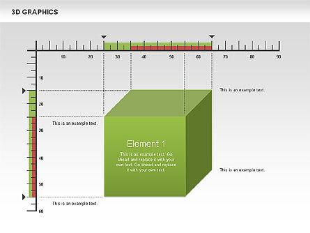 3D Graph Charts, Slide 10, 00637, Graph Charts — PoweredTemplate.com