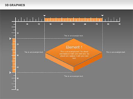 3D Graph Charts, Slide 12, 00637, Graph Charts — PoweredTemplate.com