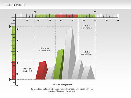3D Graph Charts, Slide 6, 00637, Graph Charts — PoweredTemplate.com