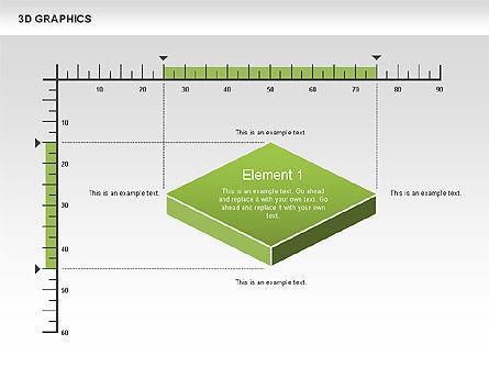 3D Graph Charts, Slide 9, 00637, Graph Charts — PoweredTemplate.com