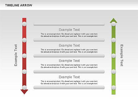 Timeline Arrow Diagram Slide 2