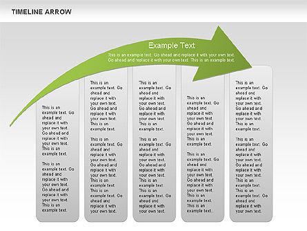 Timeline Arrow Diagram Slide 4