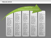 Timeline Arrow Diagram#11
