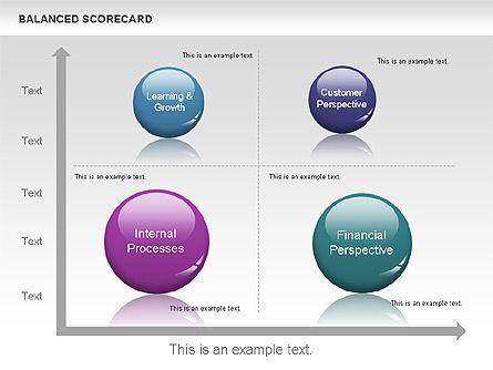 3D Balanced Scorecards Diagram, Slide 11, 00642, Business Models — PoweredTemplate.com