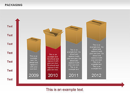 Packaging Timeline Diagram, Slide 10, 00643, Timelines & Calendars — PoweredTemplate.com