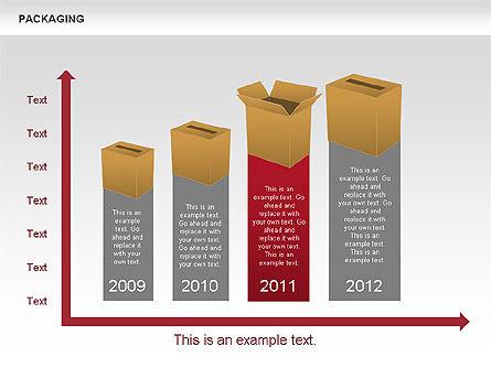 Packaging Timeline Diagram, Slide 11, 00643, Timelines & Calendars — PoweredTemplate.com