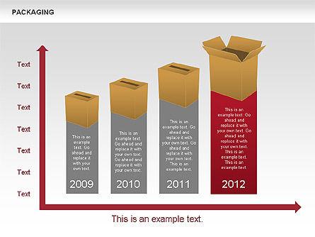 Packaging Timeline Diagram, Slide 12, 00643, Timelines & Calendars — PoweredTemplate.com