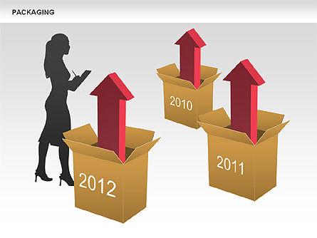 Packaging Timeline Diagram, Slide 13, 00643, Timelines & Calendars — PoweredTemplate.com